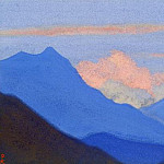 Roerich N.K. (Part 6) - The Himalayas # 41 The blazing clouds