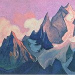 Roerich N.K. (Part 6) - Tibet # 71 (swirling glow)