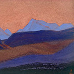 Roerich N.K. (Part 6) - Tibet boundary # 105 Tibet boundary (Concord mountains)