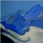 The Himalayas # 111 Glacier, Roerich N.K. (Part 6)