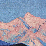 The Himalayas # 159 The Fiery Mountain, Roerich N.K. (Part 6)