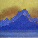 The Himalayas # 106 Blue Mountain, Roerich N.K. (Part 6)