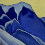 Roerich N.K. (Part 6) - The Himalayas # 133 The Inaccessible Rocks