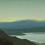 Roerich N.K. (Part 6) - Tsaidam # 36 (Clouds over lake)