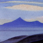 Himalayas # 197 Mountains at dawn, Roerich N.K. (Part 6)