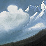 The Himalayas # 21 The cloud on top, Roerich N.K. (Part 6)