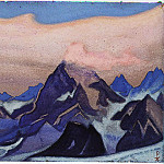 The Himalayas # 19, Roerich N.K. (Part 6)
