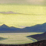 Roerich N.K. (Part 6) - Lake # 95 (Mountain landscape. Lake)