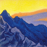 The Himalayas # 24 The Heavenly Flame, Roerich N.K. (Part 6)