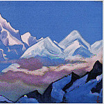The Himalayas # 15, Roerich N.K. (Part 6)