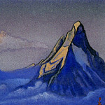 Himalayas # 8 mountain peaks. Clouds, Roerich N.K. (Part 6)