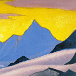 The Himalayas # 89 Transparency, Roerich N.K. (Part 6)