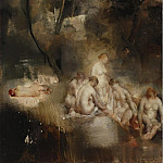 Sotheby's - Grigory Gluckmann - Bathers in the Forest, 1930