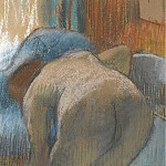 Taking a Bath, 1885, Edgar Degas