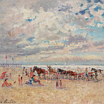Sotheby's - Andre Hambourg - Trouville, Warm Weather