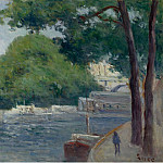 Sotheby's - Maximilien Luce - The Banks of the Seine at Paris