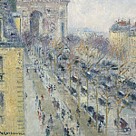 Sotheby's - Gustave Loiseau - The Triumph Arch and Friedland Avenue, 1930-31