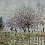 Sotheby's - Maxime Maufra - After the Flood, Haute-Indre, the Lower Loire, 1904
