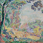 Sotheby's - Henri Lebasque - Landscape with Young Women and Girls, 1906