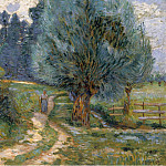 Картины с аукционов Sotheby's - Armand Guillaumin - Walking by the Bank of the Orge, 1889
