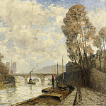 Картины с аукционов Sotheby's - Frank Myers Boggs - The Bridge of St. Michel