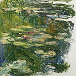 The Pool with Waterlilies, 1917-19, Claude Oscar Monet