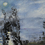 Картины с аукционов Sotheby's - Lovis Corinth - Walchensee, Moon in June, 1920