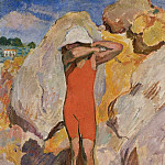 Sotheby's - Henri Lebasque - Child in Red Tights