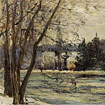 Sotheby's - Maxime Maufra - The Ice on Pond of Avray, 1897
