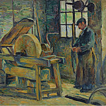 Sotheby's - Maximilien Luce - The Grinder, 1907