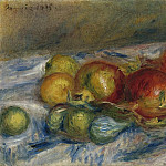 Картины с аукционов Sotheby's - Pierre Auguste Renoir - Still Life with Figs and Granates, 1915