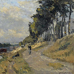 Картины с аукционов Sotheby's - Albert Lebourg - The Banks of the Seine at Puteaux