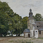 The Chapel of Notre-Dame-de-Grace, Honfleur, 1864, Claude Oscar Monet