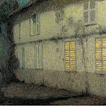 Sotheby's - Henri Le Sidaner - Shutters Closed, Gerberoy, 1933