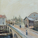 Картины с аукционов Sotheby's - Alfred Sisley - The Bridge of Moret, 1890