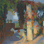 Sotheby's - Henri Martin - The Arbour at Marquayrol
