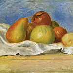 Картины с аукционов Sotheby's - Pierre Auguste Renoir - Still Life with Apples and Pears, 1890