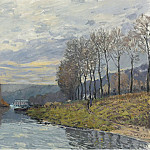 Sotheby's - Alfred Sisley - The Seine at Bougival, 1873
