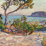 Sotheby's - Theo van Rysselberghe - The Dunes at La Faviere, 1919