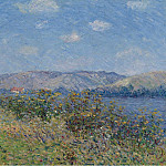 The Banks of the Seine, Tournedos-sur-Seine, 1899, Gustave Loiseau
