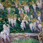 Sotheby's - Blanche Hoschede-Monet - Wistarias at Giverny