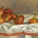 Картины с аукционов Sotheby's - Pierre Auguste Renoir - Still Life with Onions and Tomatoes, 1912