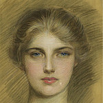 Sotheby's - Paul Cesar Helleu - Portrait of a Young Woman, 1920