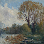 Sotheby's - Maximilien Luce - Banks of the Seine in Autumn