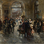 Картины с аукционов Sotheby's - Ferdinand Brutt - At the Station