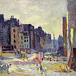 Sotheby's - Maximilien Luce - Digging at the Reaumur Street