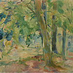 Картины с аукционов Sotheby's - Berthe Morisot - The Forest of Mesnil, 1892