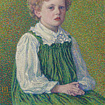 Sotheby's - Theo van Rysselberghe - Margery, 1899