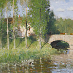 Sotheby's - Pierre-Eugene Montezin - Bridge upon the River, Sainte-Gemme-Moronval