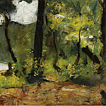 Картины с аукционов Sotheby's - Lesser Ury - Lake in Mark Brandenburg, 1910-20